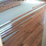 Hardwood Floors in Progress