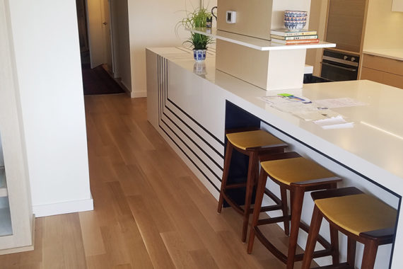Engineered Hardwood in the Kitchen at Winton Place