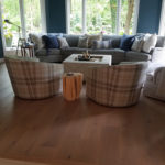 Engineered Hardwood Floors, Living Room Furnished