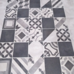 Custom Tile Bathroom Rug