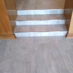 Tile Steps in House